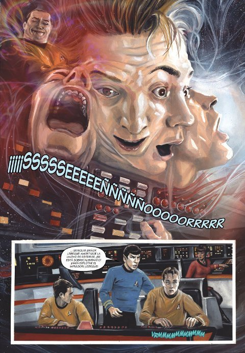 STAR TREK La ciudad al borde de la eternidad. Comic. Editorial Drakul.